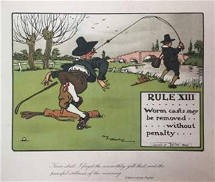 Chas Crombie - The Rules of Golf XIII