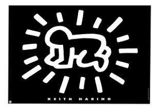 Keith Haring - Radiant Baby Poster