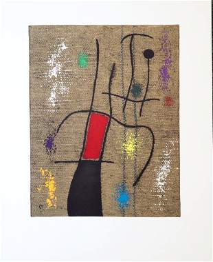 Joan Miro - Untitled 1.6