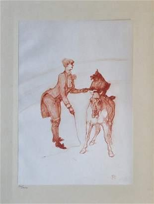 Henri Tolouse-Lautrec - Untitled from Au Cirque