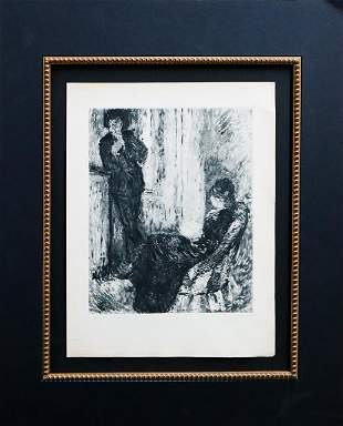 Pierre-Auguste Renoir - Au coin de la Cheminee