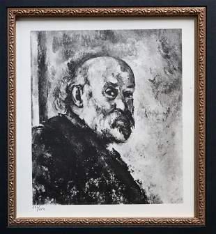 Paul Cezanne - Untitled Portrait