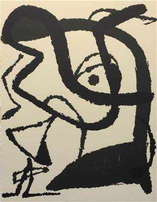 Joan Miro - Graveur I