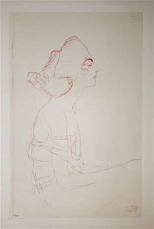Gustav Klimt (After) - Untitled 1