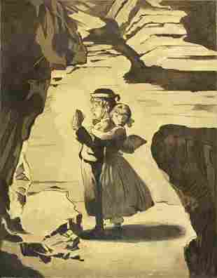 Norman Rockwell - Tom Sawyer (Tom We're Lost)