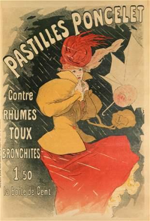 Vintage Poster - Pastilles Poncelet