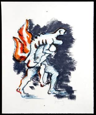 Jacques Lipschitz - Untitled