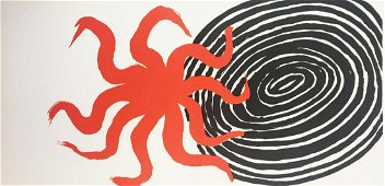 Alexander Calder - Untitled (Black Spiral)
