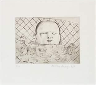 Milton Avery - Sleeping Baby