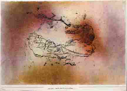 Paul Klee - The Bird Ph. Feeds UR with the Snake