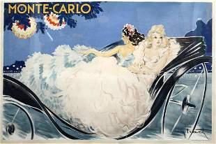 Louis Icart - Monte-Carlo