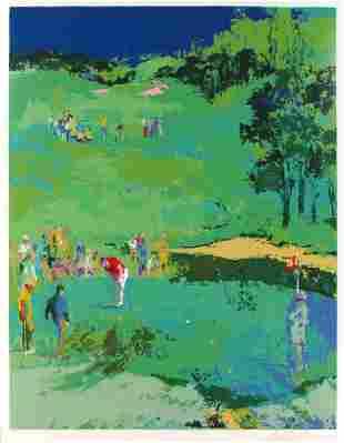 Leroy Neiman - Golf Landscape