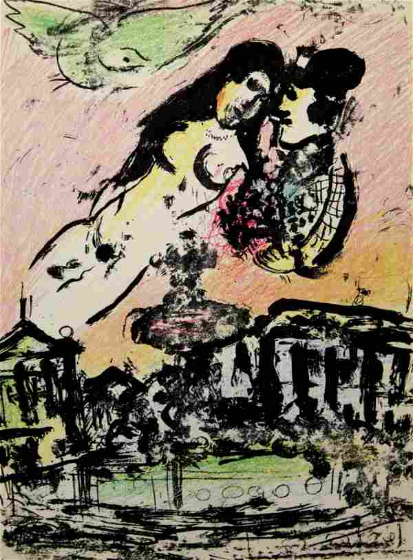Marc Chagall - The Lover