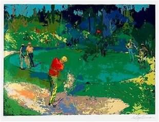 Leroy Neiman - Golf Threesome (Trevino Nicklaus Palmer)