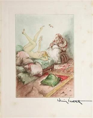Louis Icart - Pillows Galore