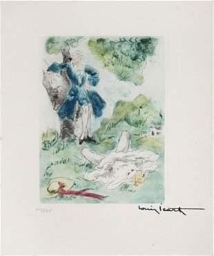 Louis Icart - Meadow Maiden