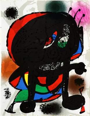 Joan Miro - Lithographie Originale III
