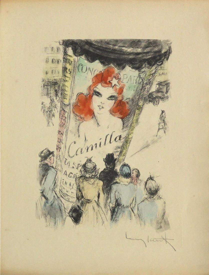 "Louis Icart - Untitled from ""Destine de Femme"""