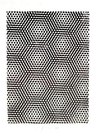"Josef Levi - Untitled from ""Stamped Indelibly"""