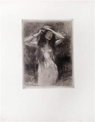 Albert Besnard - Etude