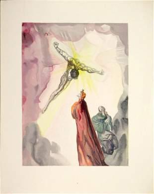 Salvador Dali - Christ's Apparition