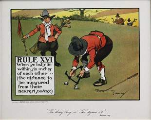 Chas Crombie - The Rules of Golf XVI