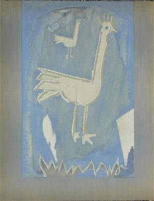 George Braque - Untitled (Two Birds)