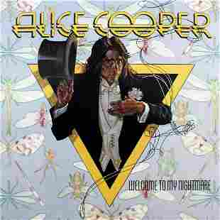 Drew Struzan - Alice Cooper / Welcome to My Nightmare