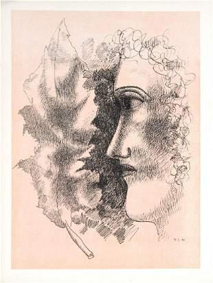 Fernand Leger - Tet et Feuille