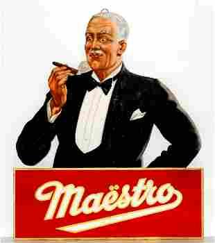 Vintage Poster - Maestro Cigar 3-D Cutout Ad