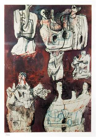 Henry Moore (After) - Tavola 28