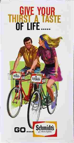 Vintage Poster - Schmidt Beer Advertistment