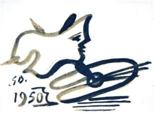 Georges Braque - Aime Maeght Invitation