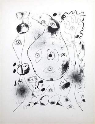 Joan Miro - Lithograph VII