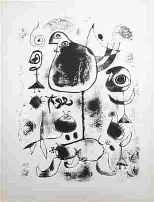 Joan Miro - Lithograph IV