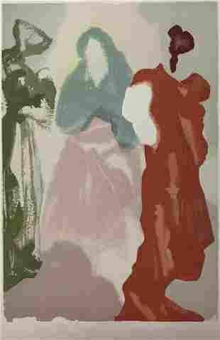 Salvador Dali - St Bernard's Prayer