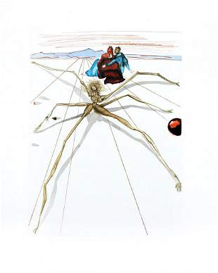 Salvador Dali - Arachne