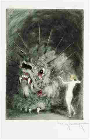 """Louis Icart - Untitled from """" Les Amours de"""