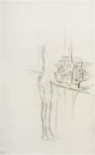 Alberto Giacometti - Nudo