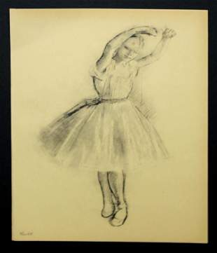 Edgar Degas (After) - Petite Danseuse