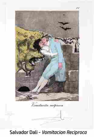 Salvador Dali - Vomitacion reciproca, #10