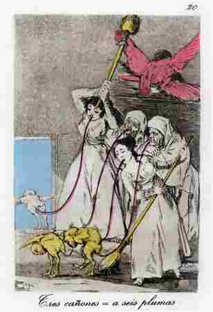 Salvador Dali - Eres canones = a seis plumas, #20