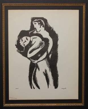 Marc Chagall - Le Dur Desir de Durer