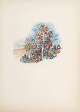 Pierre-Auguste Renoir - L'Arbre Roux