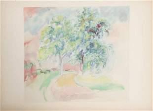 Pierre-Auguste Renoir - Le Chemin Tourant