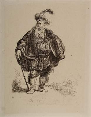 Rembrandt van Rijn (after) - The Persian