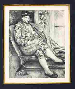 Pierre-Auguste Renoir - Portrait of Ambroise Vollard