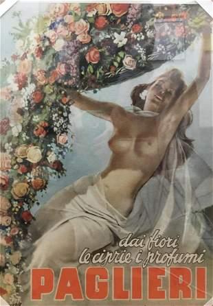 Gino Baccasile - Paglieri Perfume Ad (Vintage Poster)