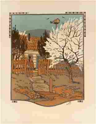 Gustave Baumann - April