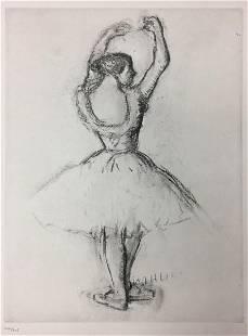 Edgar Degas - From the Danse Dessin.